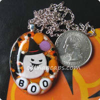 BOO Sprinkles Necklace by CatNapCaps