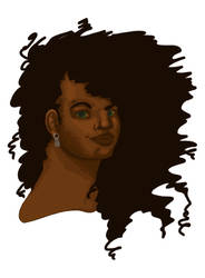 Edena ::Color:: ::WIP:: by MonochromeCrystal