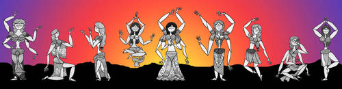 Muses by Alloronan