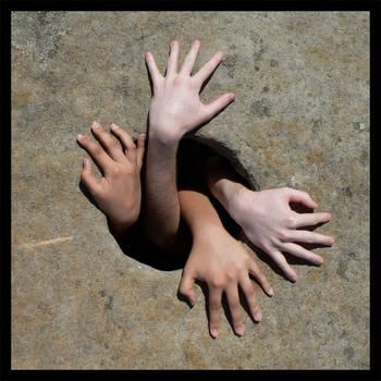Hands by Alloronan