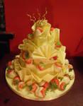 60th birthday dessert by Dragonsanddaffodils