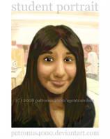 Student Portrait by patronus4000