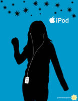 iPod Ad by patronus4000