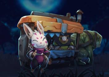 Spiral Knights: Unused Vendor by Malakym
