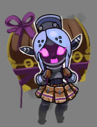 Spiral Knights: Unused Knight Vendor by Malakym