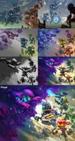 Spiral Knights: Splash Development by Malakym
