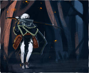 Dark Souls 2 - Ash Rabbit by Malakym
