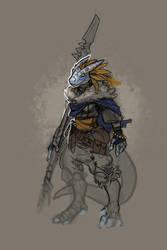 DnD - Dragonborn Blue by Malakym