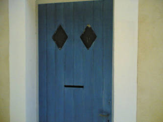 What a smiling door by juyle