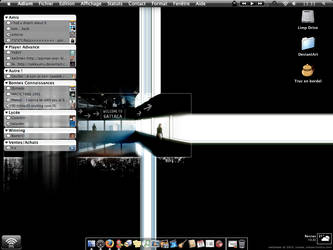 My first desk on MacOSX by juyle