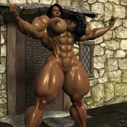 Arabella pumped up by voradorst
