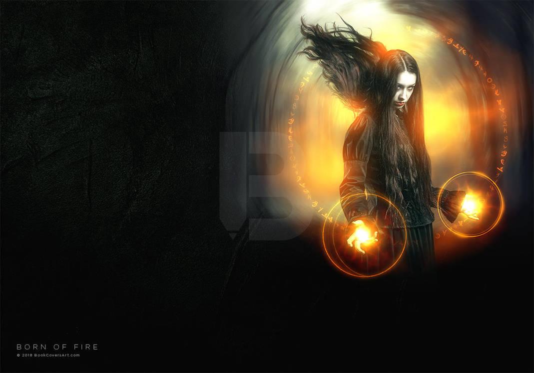Born of Fire - Premade book cover by BookCoversArt