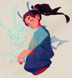Blue Spirit by i-adhi