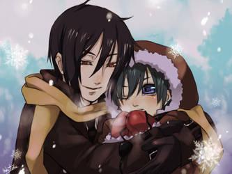 Winter Butler by hakutaku