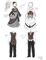 Aku no RinLen costume by hakutaku