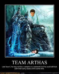 Arthas Demotivator by EvilWarChief666