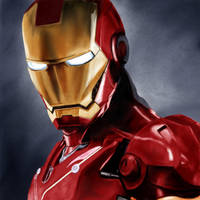 Iron Man by Rapsag