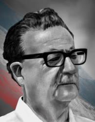 Salvador Allende by Rapsag