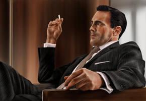 Don Draper (Mad Men) by Rapsag
