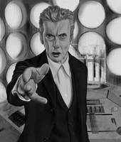 Twelfth Doctor - Old Tardis by Rapsag