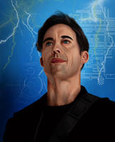 Harrison Wells (The Flash) by Rapsag
