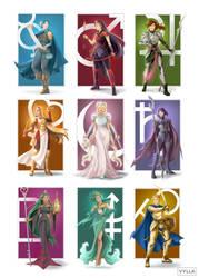 Fantasy Senshi by Vylla