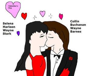 Valentine's Day Collena by Dinzydragon