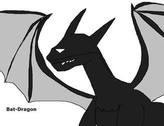 Bat-Dragon by Dinzydragon