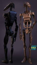 B1 Battle Droid by 3DFunkee