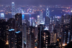 City by Night by Tung-Sama