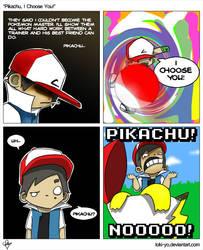Pikachu, I Choose You By KEI by toki-yo