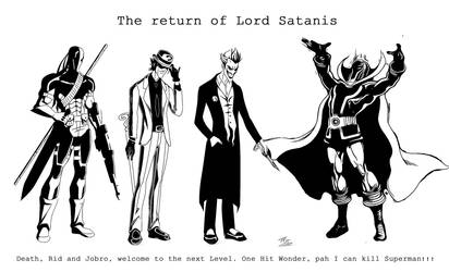 Lord Satanis returns by WastlCalavera
