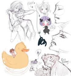 Sketch dump: 1 by le-dove