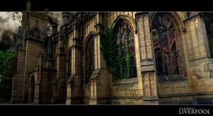 St Lukes Church Liverpool by leeislee