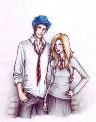 Teddy and Victoire by Achen089