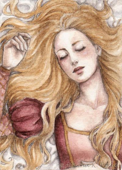 ACEO : Sleeping Beauty by Achen089