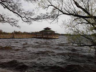 Trzesiecko Lake by Silver-Kaja