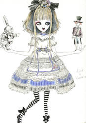 alice in wonderland by laurippo