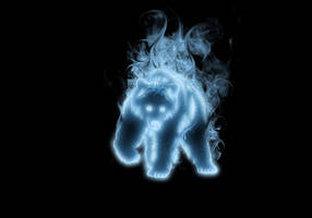 Bear Patronus by Tribalchick101