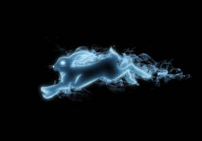 Rabbit Patronus by Tribalchick101