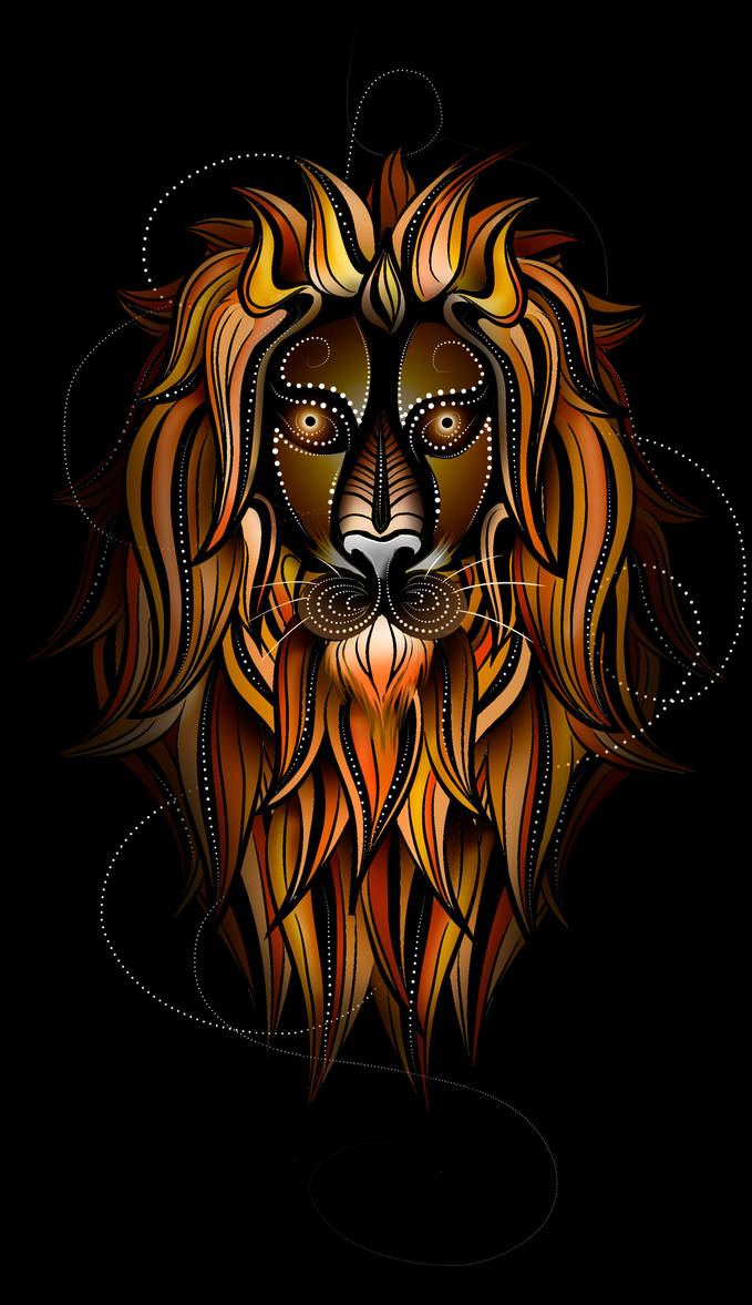 Lion Design by Tribalchick101