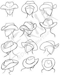 Cowboy Hat References by Zerna