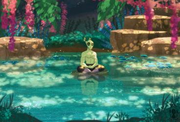 Jungle Meditation by Zerna