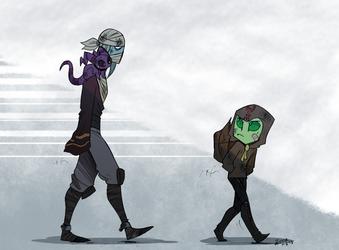 Uneasy Alliance by Zerna