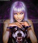 Wild violet by Sarima