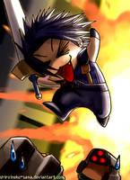 FF7CC: Chibi Zack Comin' Thru by ShiroiNeko-sama