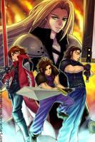 FF7CC: SOLDIERs by ShiroiNeko-sama