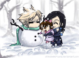 FF7: Happy Holidays by ShiroiNeko-sama