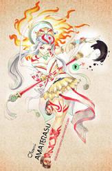 Okami: Amaterasu by ShiroiNeko-sama
