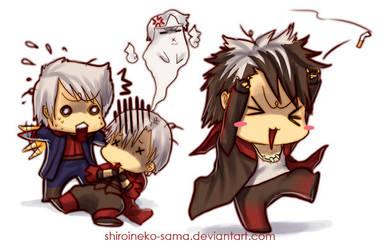 DmC: He'd Be Mockin' by ShiroiNeko-sama